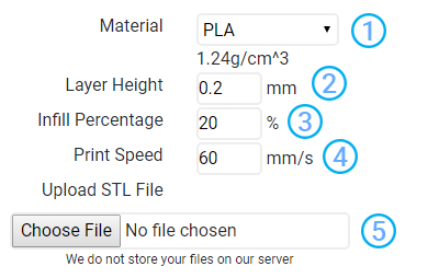 3DAddict | 3D Print Price Cost Calculation Tool