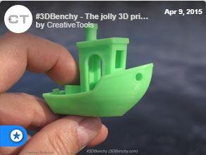3D Printer Benchy Test