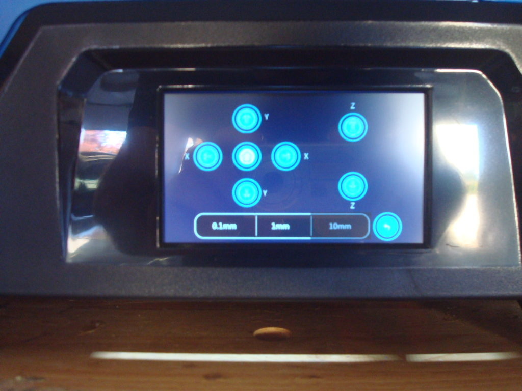 touch screen 3d printer