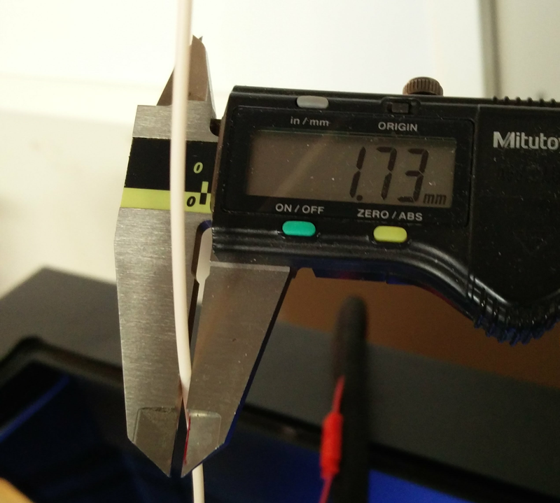 Measure Filament Caliper