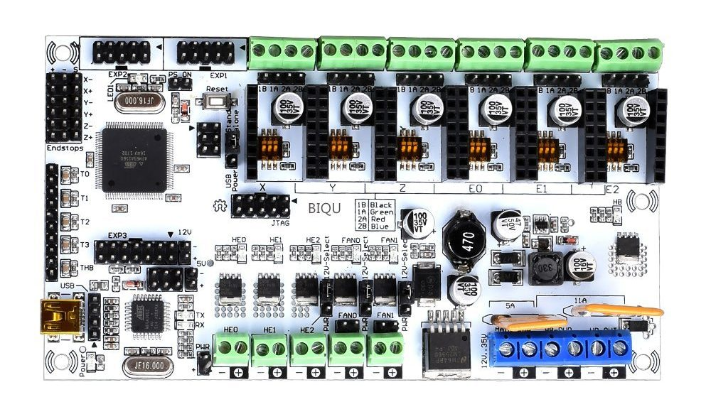 8 bit 3d printer board
