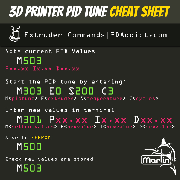 PID Tune 3D Printer